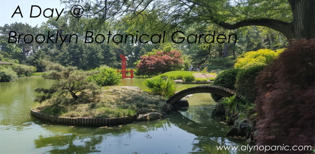 A Day At Brooklyn Botanical Garden – Aly No Panic