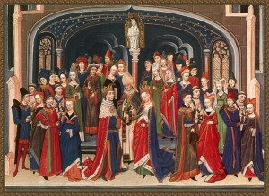 The marriage of Arthur