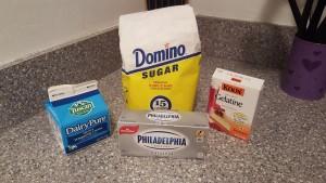 Ingredienti Crema Cheesecake