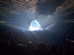 David Gilmour Rattle that Lock Tour 2016 Madison Square Garden 1