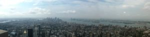 View from Empire State Building 4