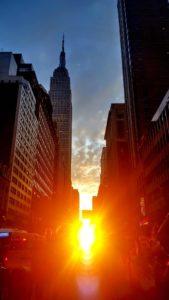 Manhattanhenge 11 of July