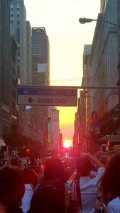 Manhattanhenge 2016 12 of July