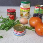Stuffed Tomatoes ingredients